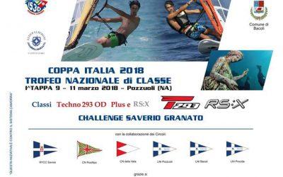 NICOSURF sponsor ufficiale I^ Tappa Coppa Italia Techno 293 e RS:X 2018